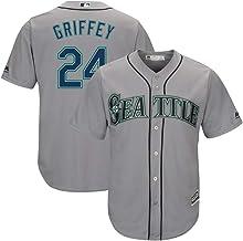 Ken Griffey Jr Seattle Mariners Youth 8-20 Navy Alternate Cool Base Replica Jersey