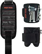 Magnetische armbanden met 15 krachtige magneten voor het vasthouden van gereedschappen, schroeven, spijkers, pluggen, bore...