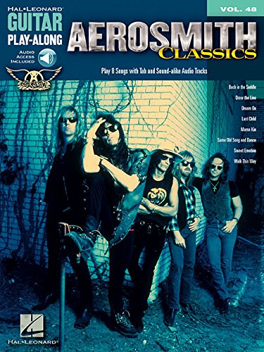 Aerosmith Classics Guitar Play-Along Vol.48 + CD