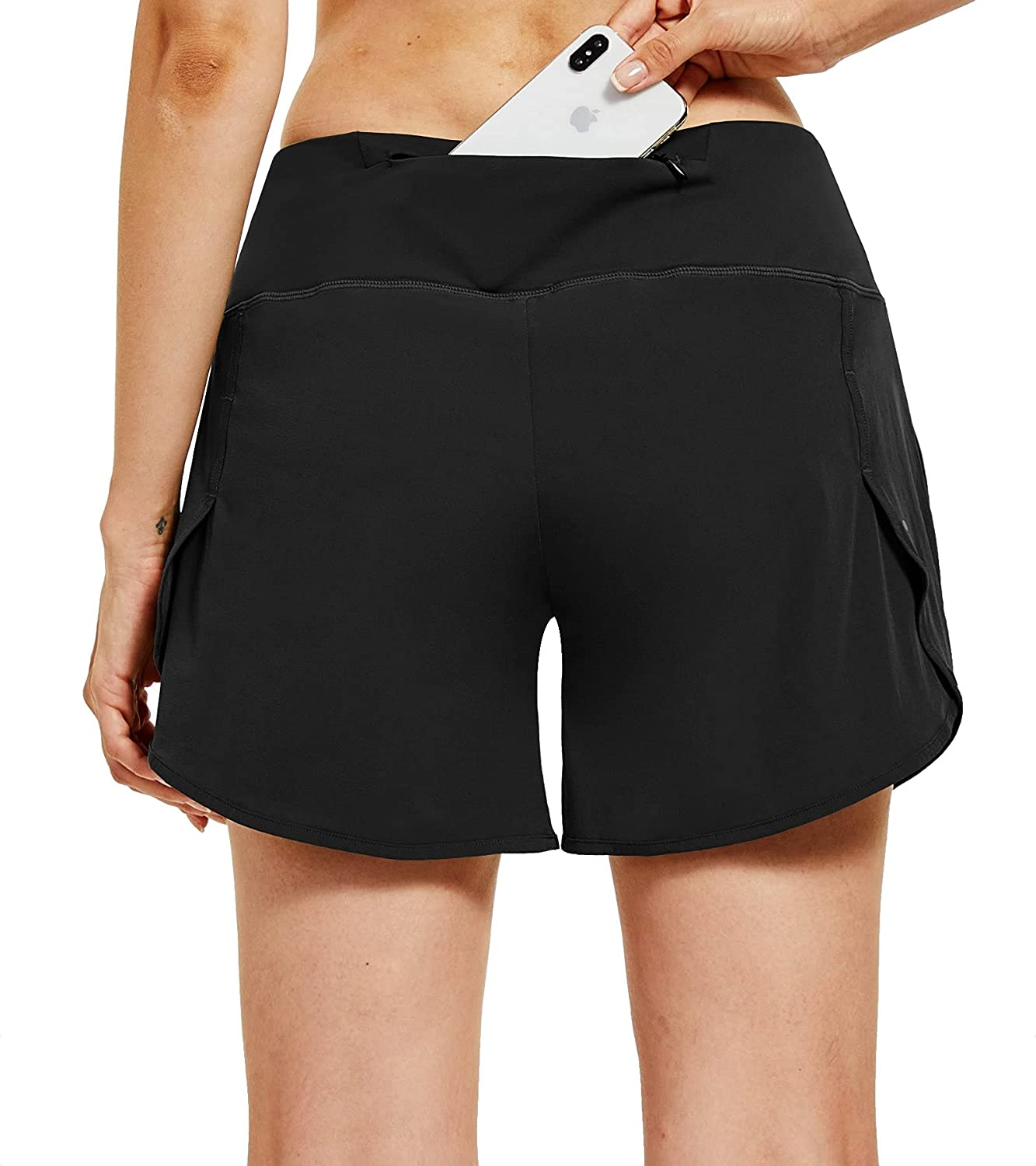 Women's Ranking TOP9 5 Inch Running Topics on TV Shorts with Liner Mesh Lounge G Dry Quick