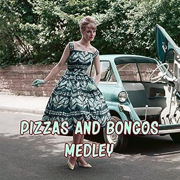 Pizzas and Bongos Medley: Sorrento Cha Cha / Just Say I Love Her / Return to Me / Marina / The Blue Grotto / Ciribiribin / Oh, Marie / Arrivederci Roma / O Sole Mio / Ciao Ciao Bambina / Volare (Nel Blu Dipinto Di Blu) / Vino Della Rosa / Guaglione / Isle
