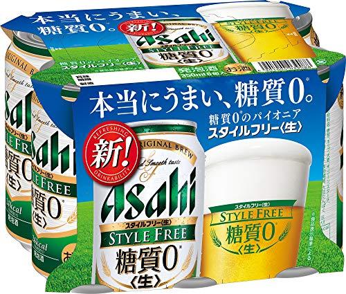 アサヒビール アサヒスタイルフリー 生 350ml 6缶 [9088]