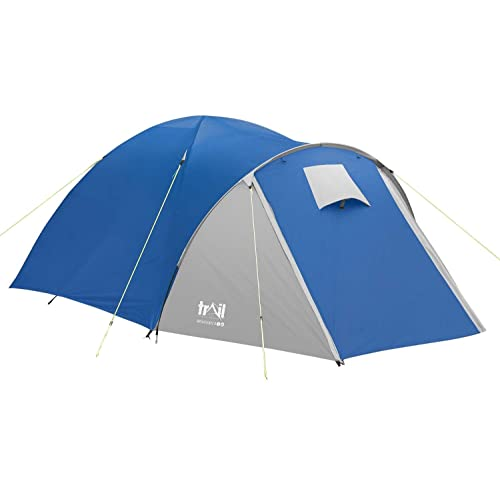 772512c1113 Trail 2 3 4 Man Person Dome Tent Festival Camping With Porch Trail Bracken  3000mm HH