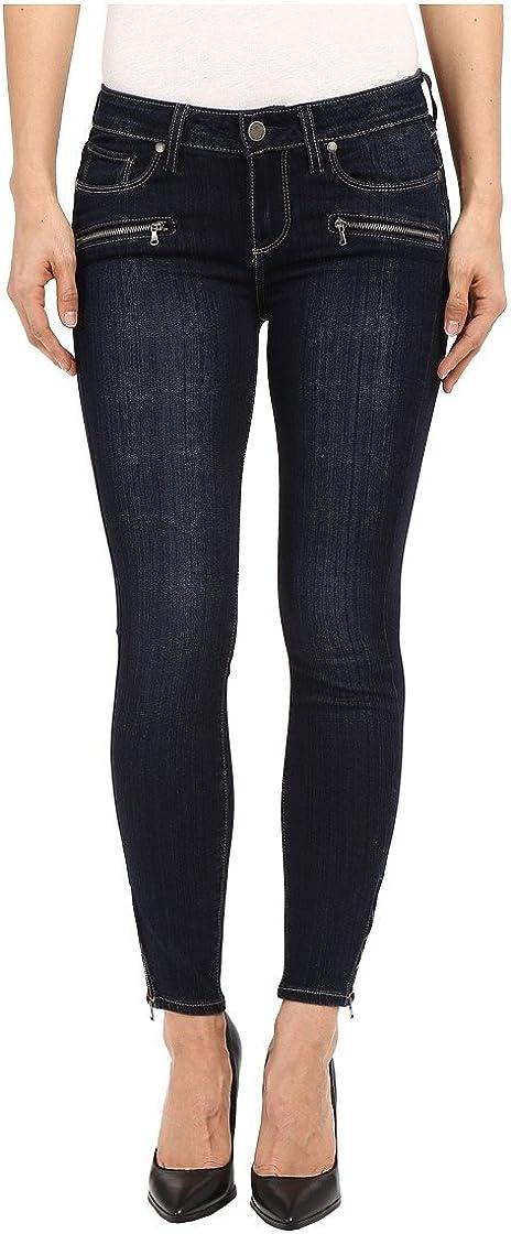 PAIGE Women's Jane Zip discount Crop Whiskers Jeans-Hartmann Jacksonville Mall No