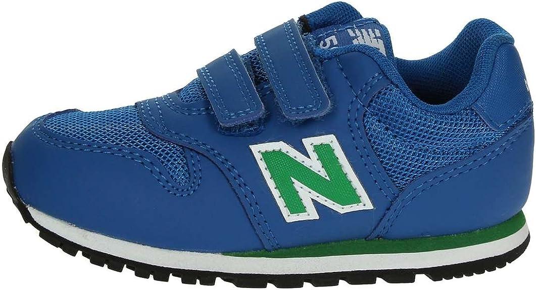 New Balance 500 Scarpe Sneaker Bambino Blu Verde KV500YUI-BLUE ...
