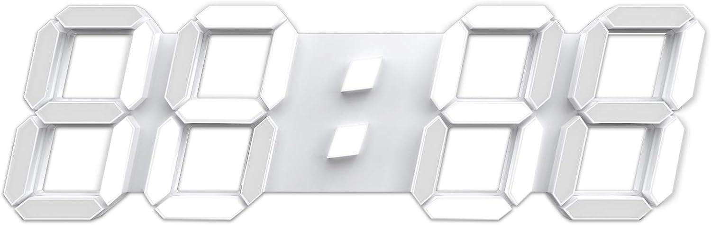 """3D LED Sale Wall Clock 15"""" Nightlig Control SALENEW very popular! Digital Remote Timer"""