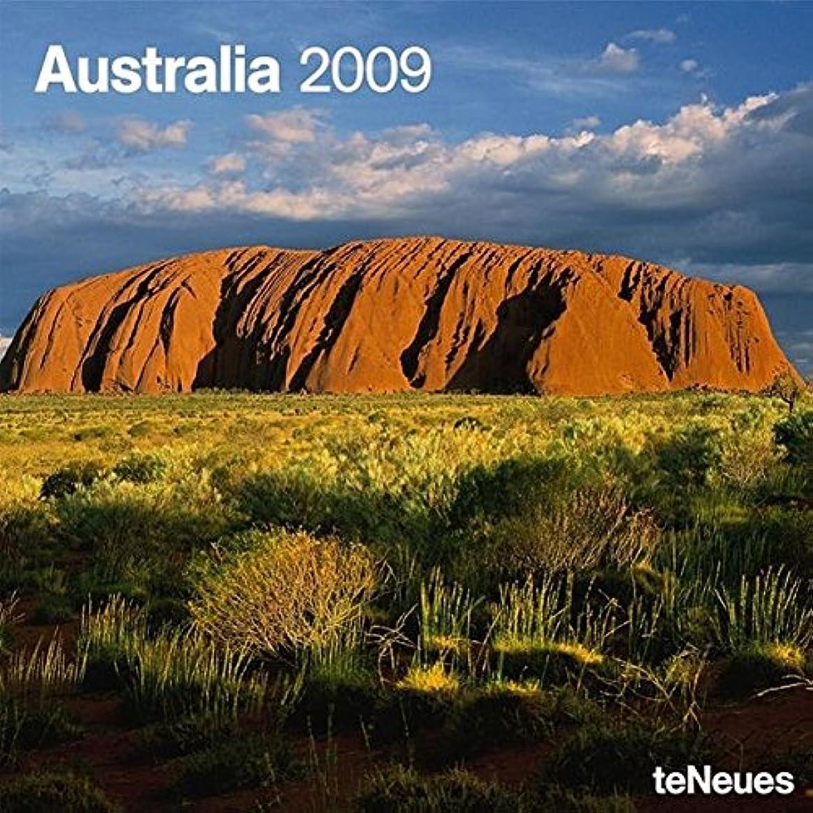 八こどもの日組み込むAustralia 2009 Calendar (Grid Calendar)