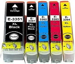 RudyTwos - Cartucho de Tinta de Repuesto para Epson 33XL (Naranja), Compatible con Expression Premium XP-530, XP-540, XP-630, XP-635, XP-640, XP-645, XP-830, XP-900