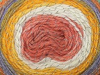 Sirdar Colourwheel Dazzle Cake Knitting Yarn DK 502 Tropical Twist - per 150 gram ball