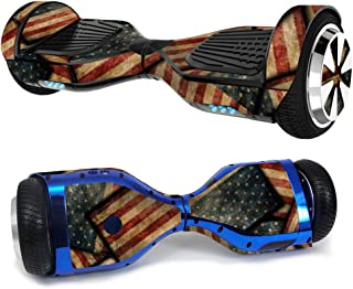 MightySkins Skin Compatible with Hover-1 H1 Hoverboard Scooter - Vintage American | Protective, Durable, and Unique Vinyl Decal wrap Cover | Easy to Apply, Remove, and Change Styles | Made in The USA