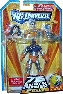 DC Universe Infinite Heroes 75th Anniversary Deathstroke With Collector Button