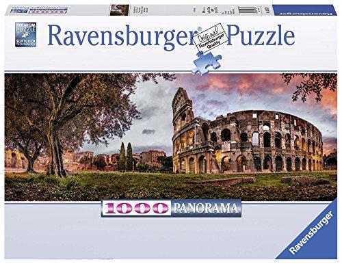 Ravensburger 1500779 Puzzel Coloseum Bij Zonsopgang - Panorama - Legpuzzel - 1000 Stukjes