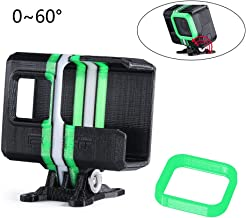 $29 » iFlight 3D Printed Adjustable Camera Mounting Case Seat 0~60° TPU Compatible Gopro Hero 5/6/7 Used for Titan XL5/DC5/Nazgul5/SL5 Series FPV Racing Drone Quadcopter Frame (Black & Green)