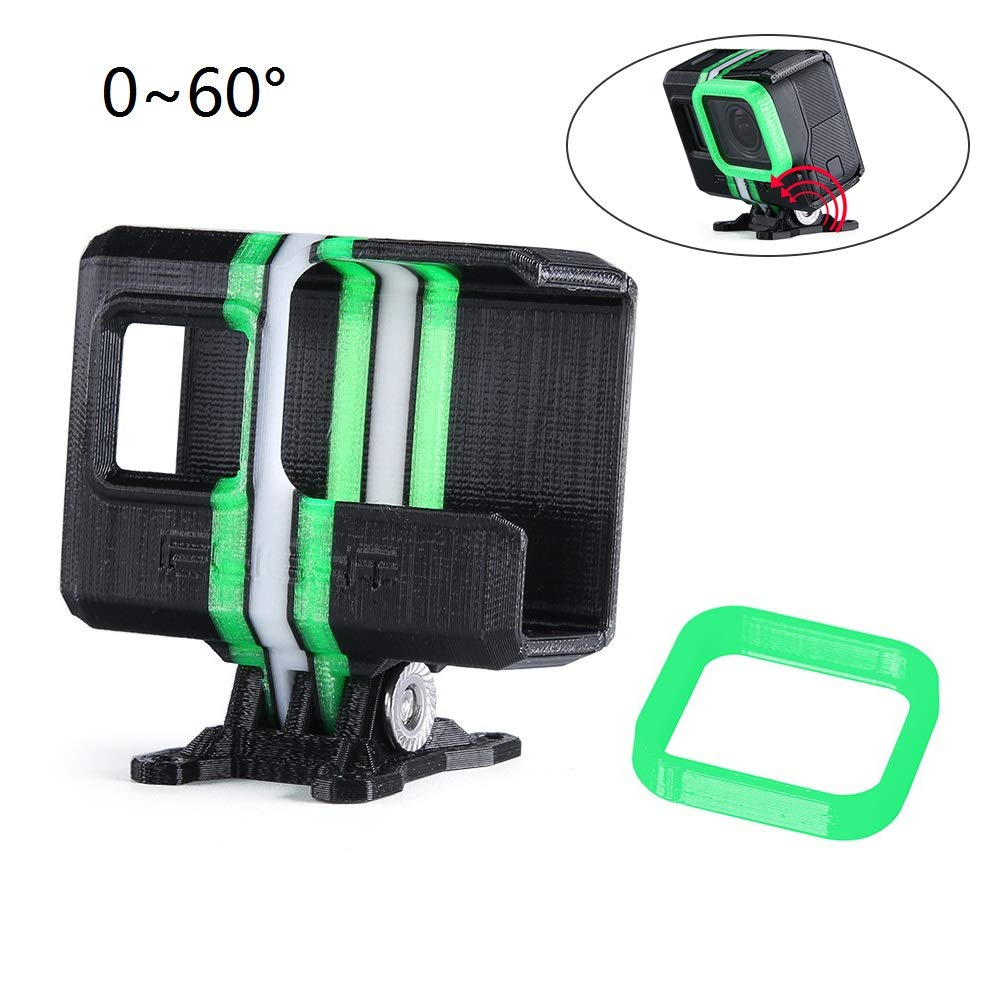 iFlight TPU Camera Mount Protector for GoPro 8 Used for iFlight XL DC Series DC5 FH5 Quadcopter FPV Frame Black