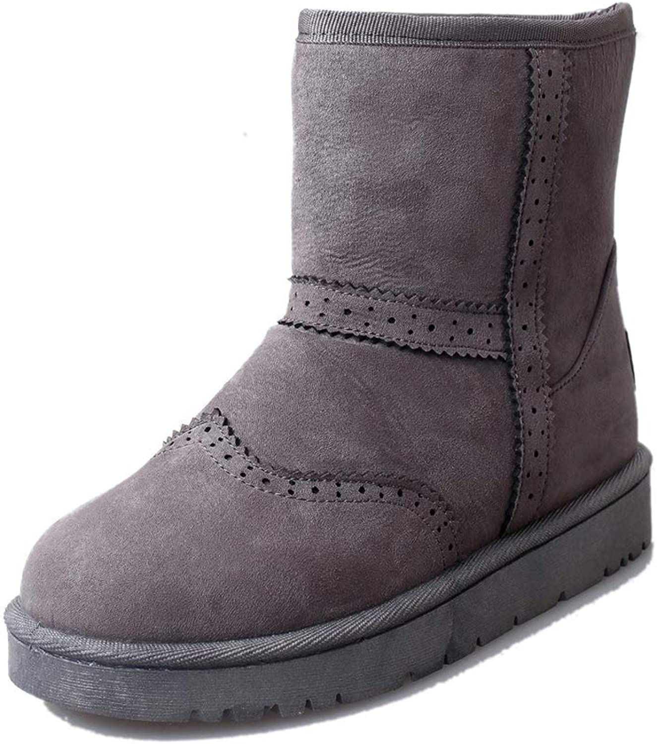Quality.A Women's Round Toe Ankle Boots Fashion Boots Ankle Boots