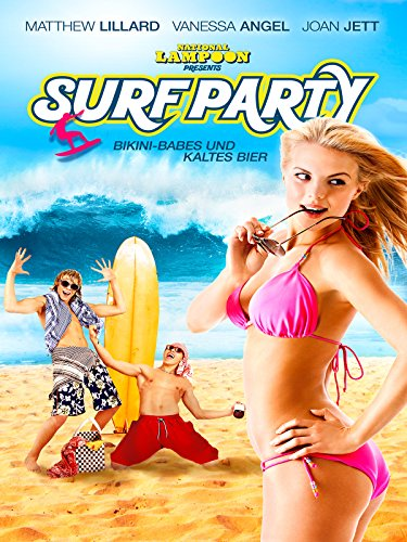Surf Party: Bikini-Babes und kaltes Bier