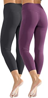 Cadums High Waist Yoga Pants,Tummy Control,Running Leggings for Women with Out Pockets
