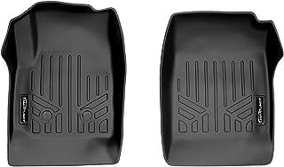 SMARTLINER Custom Fit Floor Mats 1st Row Liner Set Black for 2015-2021 Chevy Colorado/GMC Canyon - All Models