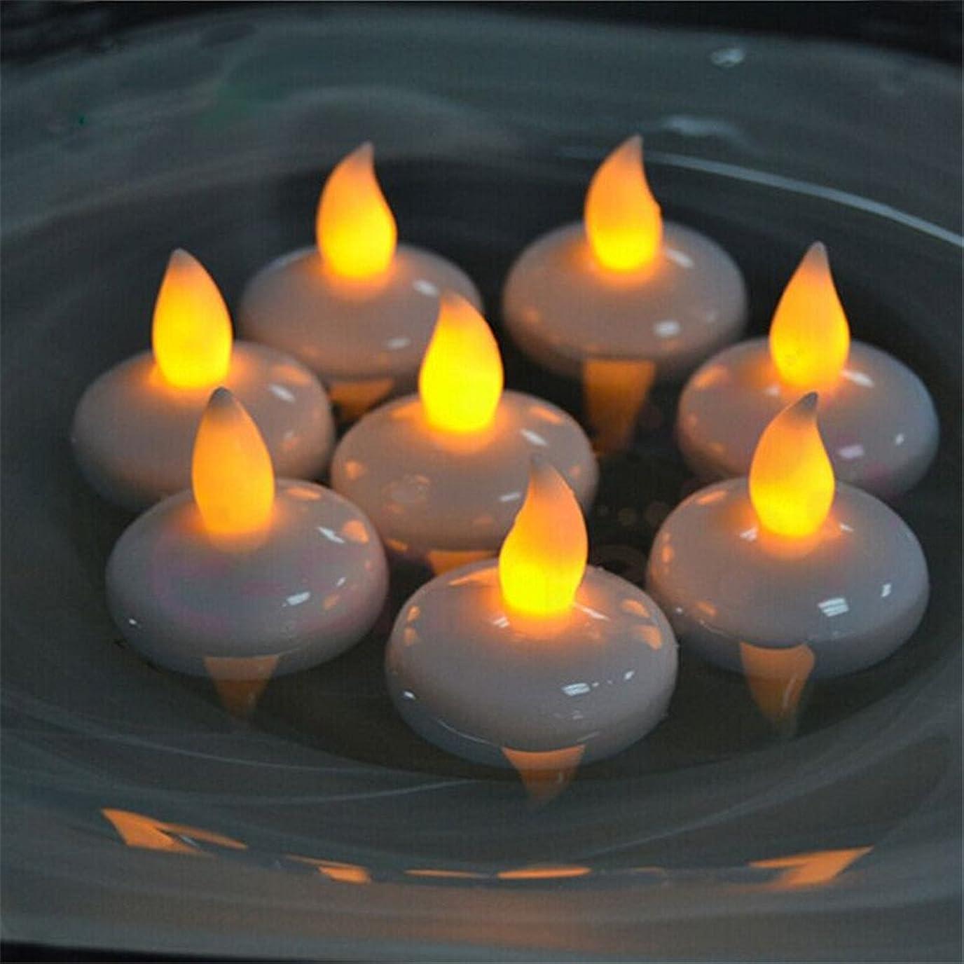 助けになる遠足大気(愛の灯)Youngerbaby12/水に浮くローソク 暖かい黄色い光のLEDキャンドルライト 癒しの雰囲気誕生日パーティーやクリスマスなどの装飾用