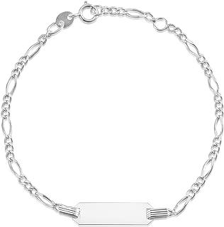 14K Gold Chain ID Bracelet 6
