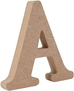 Decorativo De madera Letras, Original Color 26 Alfabeto Madera Letras para ombre Para niños Cumpleaños Fiesta Boda Casa Decoración y Cuarto, Gspirit (A)