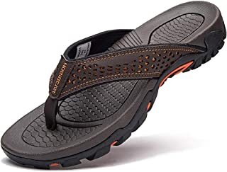 GUBARUN Mens Sport Flip Flops Comfort Casual Thong Sandals Outdoor