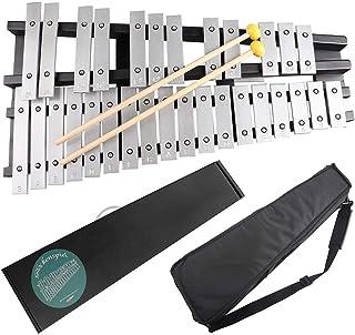 El Sr. Power plegable Glockenspiel Xilófono Vibráfono–Instrumento de percusión 30notas