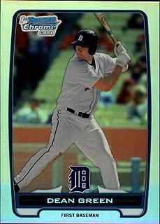 2012 Bowman Chrome Prospects Refractor #BCP52 Dean Green Detroit Tigers MLB Baseball Card /500 NM-MT