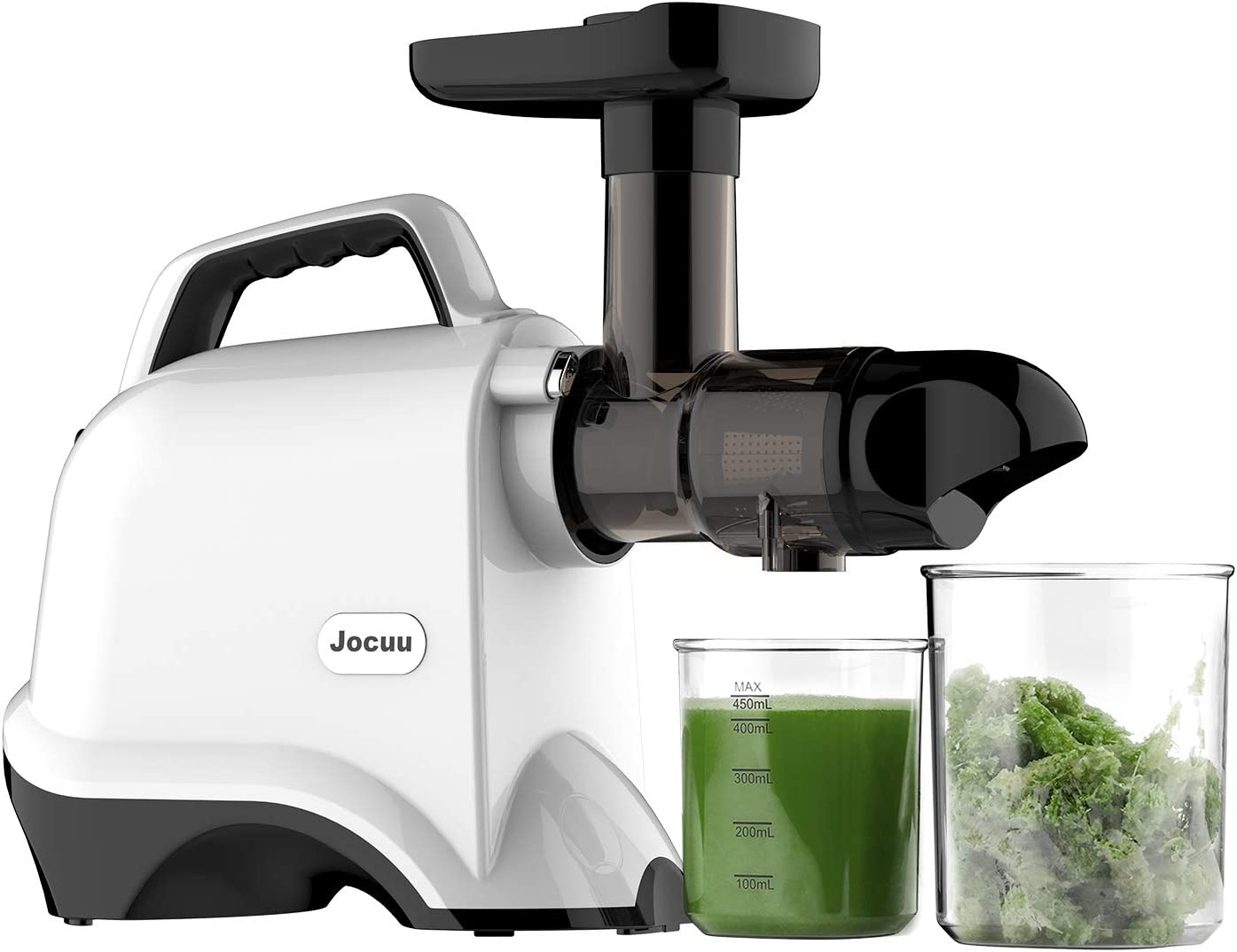 White Slow Masticating Juicer Extractor for Fruits and Vegtables ...