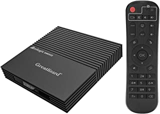 Greatlizard Android TV Box A95X F2 Android 9.0 TV Box 4GB 32GB BT4.2 Amlogic S905X2 Quad Core 2.4G WiFi 4K Smart Android Box