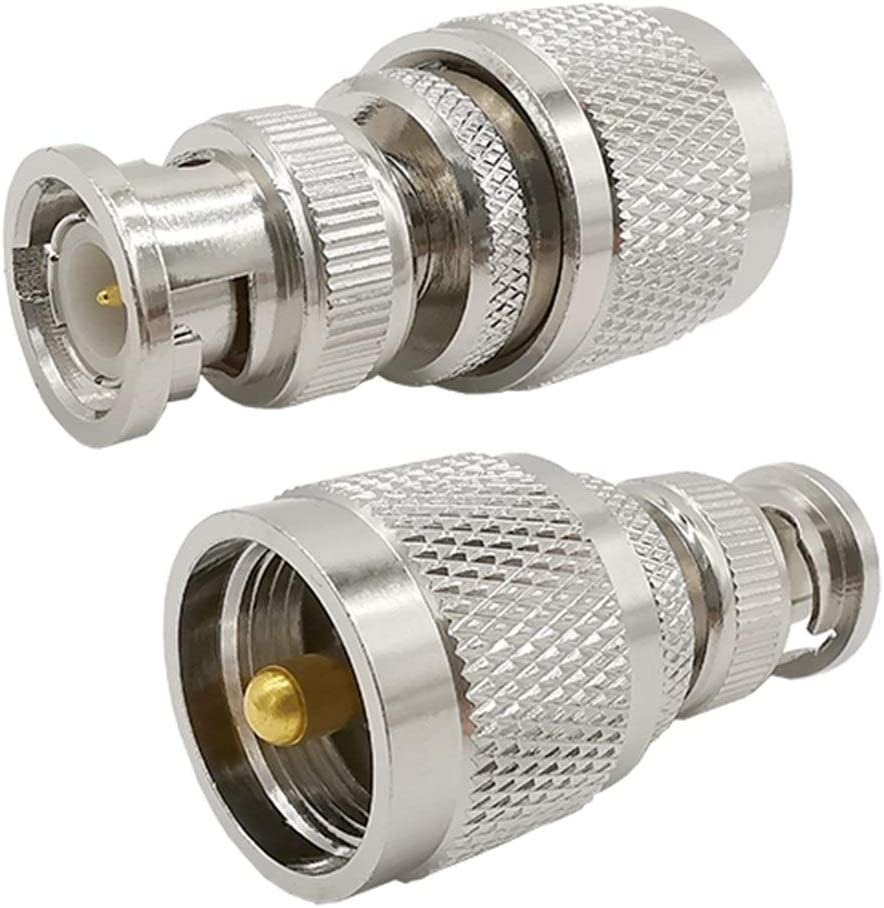 Xihe Cable Connector Coaxial ! Super beauty product restock quality top! Adapter Male Popular overseas 1PCS PL- UHF