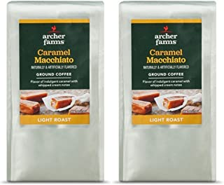 Archer Farms 12 Ounce Each Ground Coffee - 2 Bags (Caramel Macchiato)