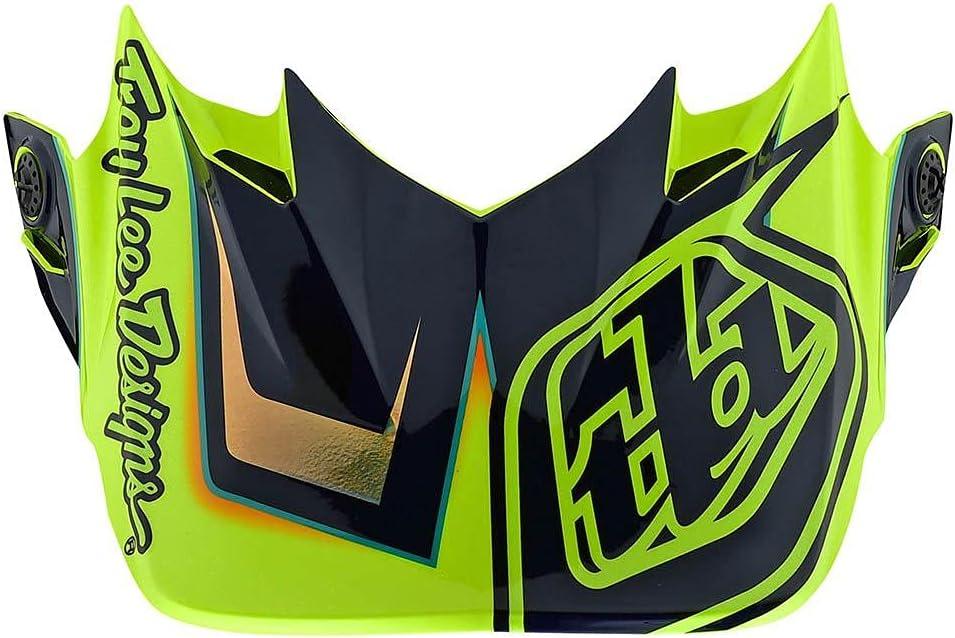 Troy Lee Designs SE4 Helmet Replacement Peak Max 70% OFF Flash Genuine Black Y Visor