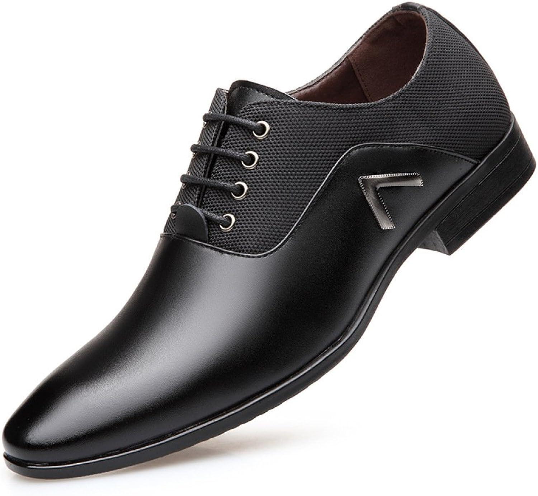 LEDLFIE Men's Leather shoes Business Casual Men's shoes Classic Fashion Dress shoes