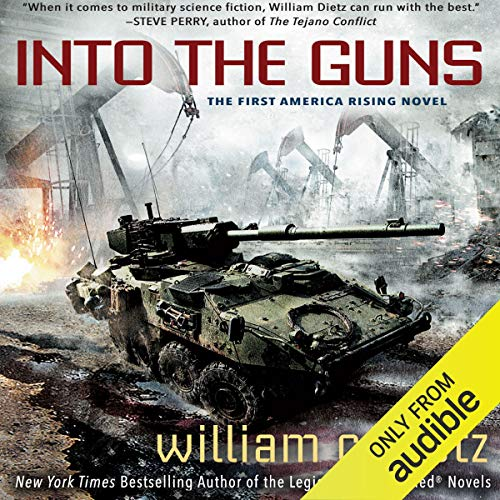 Into the Guns Audiobook By William C. Dietz cover art