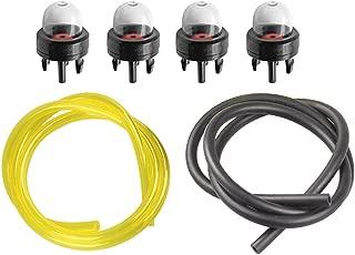 HIPA 4 Pack 12318139130 Primer Bulb for Echo CS400 CS310 CS300 CS301 CS305 CS306 CS340 CS341 CS345 CS346 CS352 CS370 CS3400 CS3450 CS450 Chainsaw PB770H PB770T SRM400U SRM410U Purge Bulb Fuel Line