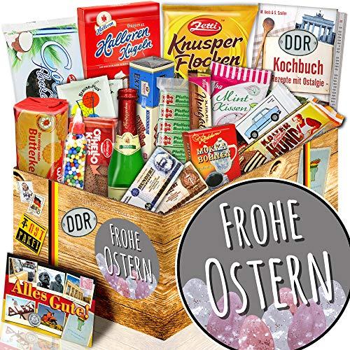 Frohe Ostern - Geschenk an Ostern - Süße DDR Artikel
