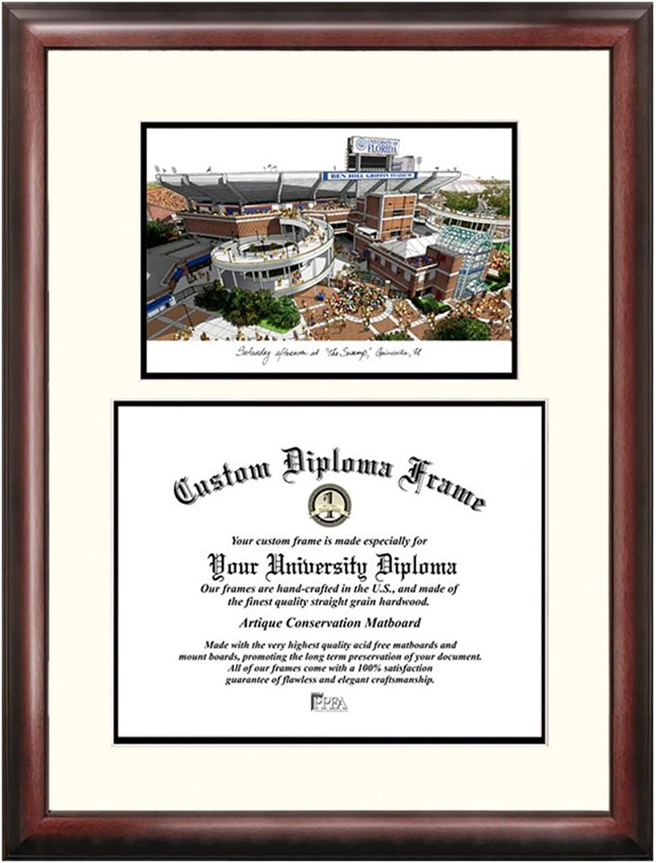 University of Florida, the Swamp Scholar Diploma Frame