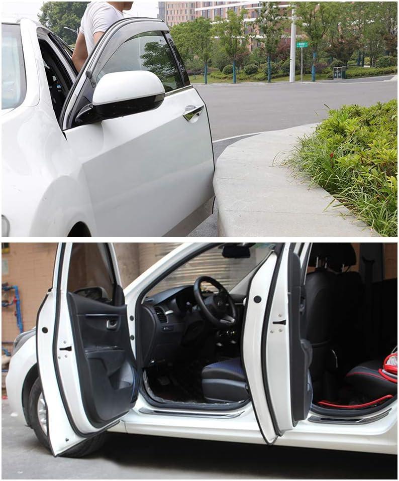 16Ft Size: 10mmx7mm LECART Car Door Edge Protection Car Door MATCC U-Shape Trim Edge Guards Car Rubber Seal Edge Protector Car Window Seal Rubber Profile Black Fit for RV SUV CAR