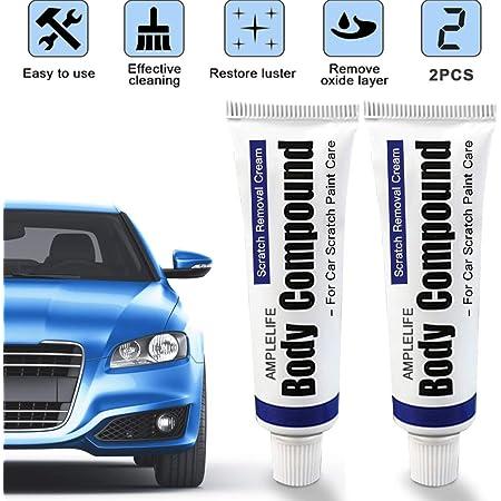 Bianchipamela Car Scratch Repair Kit Auto Body Compound Polishing Grinding Paste Paint Care Auto