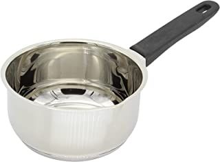 Karl Kruger Saucepan and Milk Pot with Spout, 0.60 l, Stainless Steel Silver, 0.6 Litre