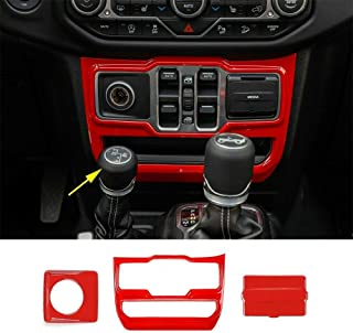 RT-TCZ Window Decorative Cover Trim ABS Protective Cover Interior Trim Cover for Dodge Challenger 2009-2021 UP Interior Accessories Carbon Fiber