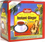Caribbean Dreams Instant Ginger Tea, Pre-Sweetened, 10 Sachets per box Delicious, refreshing, Relaxing and Calming, Best ginger tea, enjoy it Hot or Ice Cold MADE FROM FRESHLY CRUSHED Ginger root to obtain a concentrated juice with strong ginger tast...