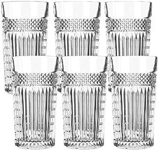 Libbey Radiant - Longdrinkglas, Cocktailglas, Wasserglas - Transparent - 6 Stück - 470 ml