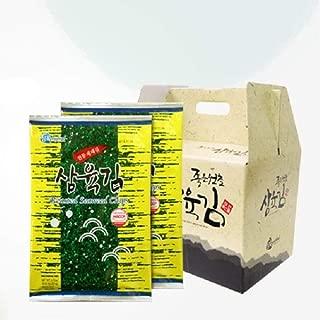 Samyuk Traditional Seaweed Full Size 20g x 10 packs Gfit Set, Product of Korea