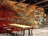Papel Pintado Pared De Cemento De Óxido Industrial Vintage Fotomural 3D Mural Pared Wallpaper,200Cmx140Cm
