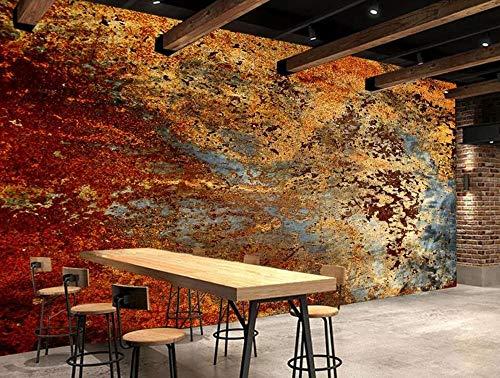 Papel Pintado Pared De Cemento De Óxido Industrial Estilo Vintage Fotomural 3D Mural Pared Moderno Wallpaper,200Cmx140Cm