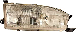 Headlight Replacement For Toyota Camry Passenger Right Side Rh 1992 1993 1994 Headlamp Assembly