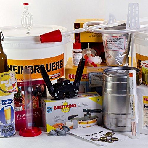 Principiante al professionista–-Per fabbricare birra di apprendimento set fino a 50litri di birra sopracciglia