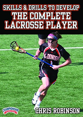 Championship Productions Chris Robinson: Skills and Drills to Develop the Complete Lacrosse Player DVD
